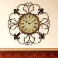 Infinity Instruments Oversized Province Wall Clock