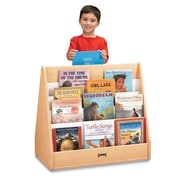 Jonti-Craft 31'' Pick-a-Book Stand with 1 Sided Flush Back