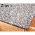 Home Styles Kitchen Cart Top; Granite