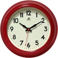 Infinity Instruments Cuccina 8.5'' Wall Clock; Red