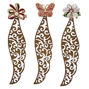 Selectives Jeweled Bookmark  (Set of 3)