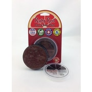 RUBY RED PAINT, INC. Individual Color 18ml/0.61oz Face and Body Paint; Chocolate
