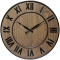 Infinity Instruments Wine Barrel Wall Clock