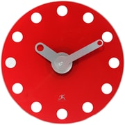 Infinity Instruments 14'' Accent Wall Clock; Red