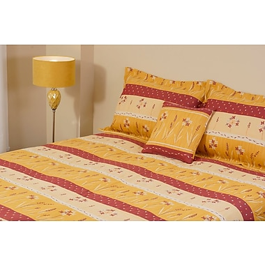 Chéné-Sasseville Elvas Reversible Bedspread with 2 Shams, Extra Queen