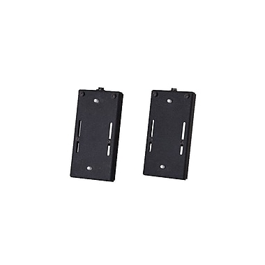 Chief® (MIL-CH-PAC392B) Universal Flat Panel Slat Wall Accessory, 10