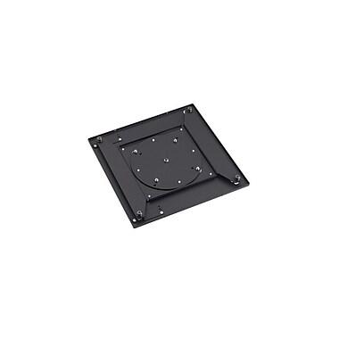 ChiefMD – Adaptateur pour rotation de support pour écran plat (MIL-CH-MAC400), 10 x 9,9 x 0,9 po, noir