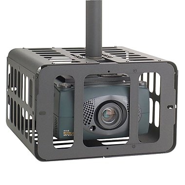 ChiefMD – Cage de sécurité pour projecteur (MIL-CH-PG2A), petit, 10,2 x 16,1 x 16,4 po, noir