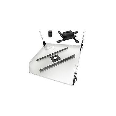 ChiefMD – Support de plafond prêt-à-monter pour projecteur (MIL-CH-KITPB003), noir