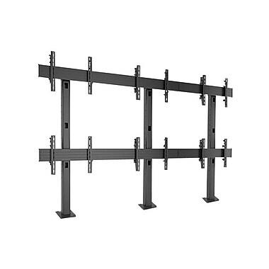 Chief® Fusion™ (MIL-CH-LBM3x2U) Bolt-Down Freestanding Video Wall Cart, 72.9