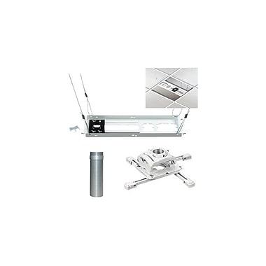 ChiefMD – Support de plafond prêt-à-monter pour projecteur (KITEZ006W), blanc