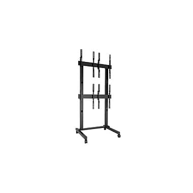 Chief® Fusion™ (MIL-CH-LVM2x2UP) Freestanding Video Wall Cart, Large, 106.7