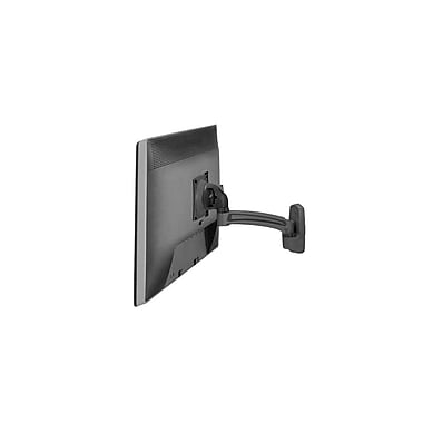 Chief® (MIL-CH-K2W110B) Wall Mount Swing Arm with Extension for Single Monitor Display, Black