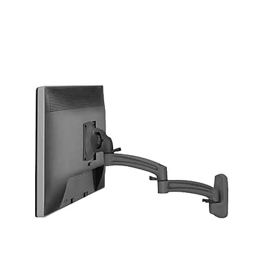 Chief® (MIL-CH-K2W120B) Wall Mount Swing Arm with Extension for Single Monitor Display, Black