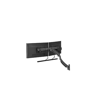 Chief® (MIL-CH-K1W22HB) Dynamic Dual Monitor Array Wall Mount, Black