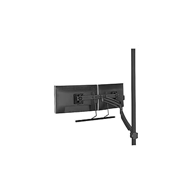 Chief® (MIL-CH-K1P22HB) Dynamic Dual Monitor Array Pole Mount, Black