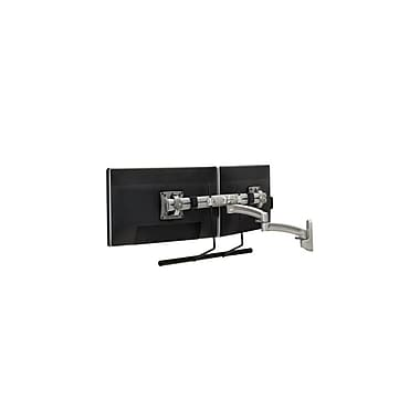 Chief® (MIL-CH-K2W22HS) Wall Mount Swing Arm with Extension for Dual Monitor Display, Silver