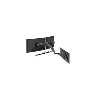 Chief® (MIL-CH-K1S22HB) Dynamic Dual Monitor Array Slat wall Mount, Black