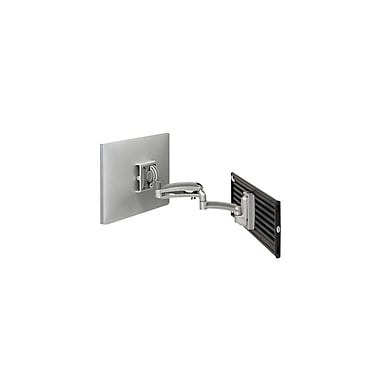 Chief® (MIL-CH-K1S120S) Dynamic Single Monitor Slat wall Mount, Silver