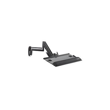 Chief® (MIL-CH-KWK110B) Height Adjustable Keyboard and Mouse Tray Wall Mount, 3.3