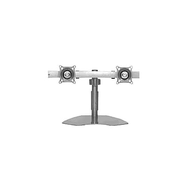 ChiefMD– Support de table horizontal double, 14,5 x 27,3 x 14,5 po, argent (MIL-CH-KTP220S)