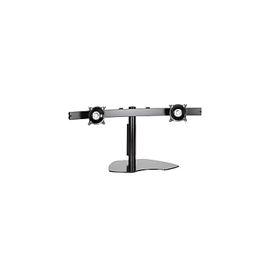Chief® (MIL-CH-KTP225B) Widescreen Dual Horizontal Table Stand, 14 1/2