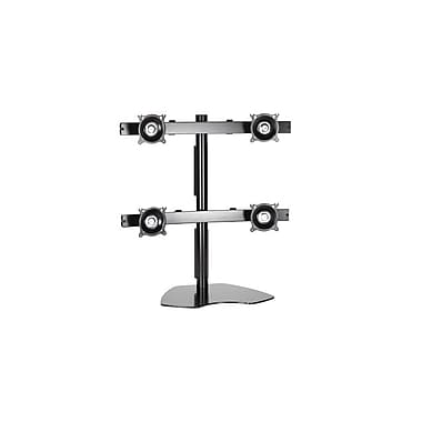Chief® (MIL-CH-KTP440B) Quad Monitor Table Stand, 28.5