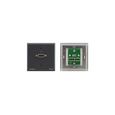 Kramer (KC-WPX-3) 15-Pin Hd To Terminal Block Wall Plate