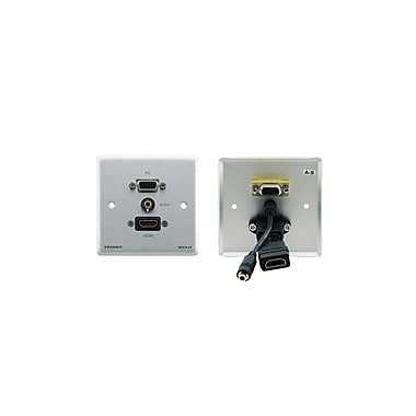 Kramer (KC-WXA-H) 15-Pin Hd, 3.5Mm Audio and Hdm Wall Plate