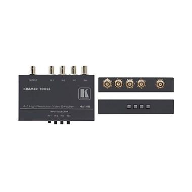 Kramer (KC-4X1VB) 4X1 Composite Video Mechanical Switcher (Bncs)