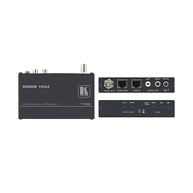 Kramer (KC-712N) Composite and (U) Audio Over Twisted Pair Receiver (Requires 711N)