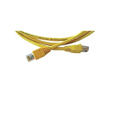 Kramer (C-HDTP/HDTP-50) Rj-45 (M) To Rj-45 (M) Ultra-Low Skew Utp Cable, 50', Yellow