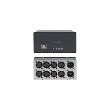 Kramer (KC-VS-4X) 4X1 (B) Audio Mechanical Switcher (Xlrs)