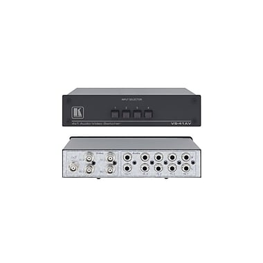 Kramer (KC-VS-41AV) 4X1 Composite and (U) Audio Mechanical Switcher
