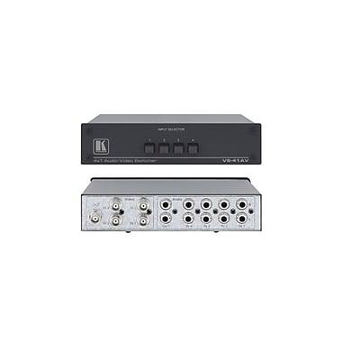 Kramer – (KC-VS-41AV) Commutateur composite et audio mécanique (U) 4x1