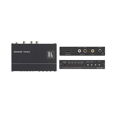 Kramer – Convertisseur de résolution vidéo composite et audio stéréo en format HDMI (KC-VP-410)