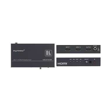 Kramer – Commutateur infrarouge avec 2 x 1 HDMI (KC VS-21H-IR)