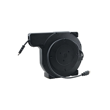 Kramer (KC-K-ABLE-A) 3' Retractable Stereo Audio (3.5mm) Cable Reel