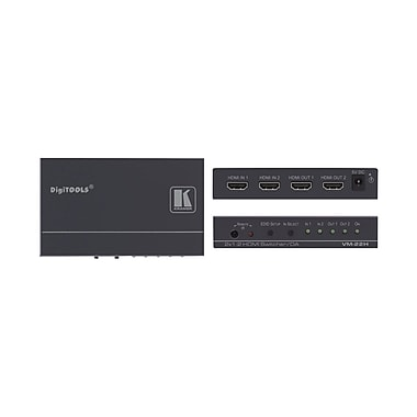 Kramer (KC-VM-22H) 2X1:2 HDMI Switcher With Ir Switching