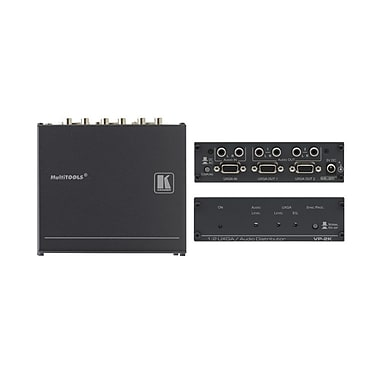 Kramer (KC-VP-2K) 1:2 Xga and (U) Audio Distribution Amplifier With Kr-Isp™ Sync Processing