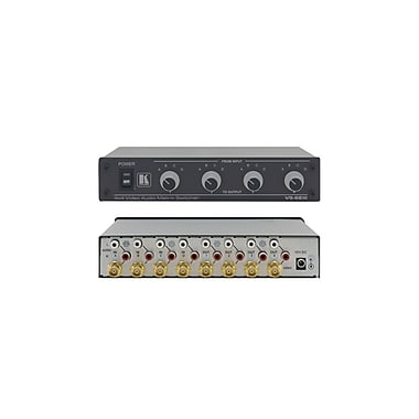 Kramer – Commutateur à matrice audio 4 x 4 composite et dissymétrique (KC-VS-6EIII)