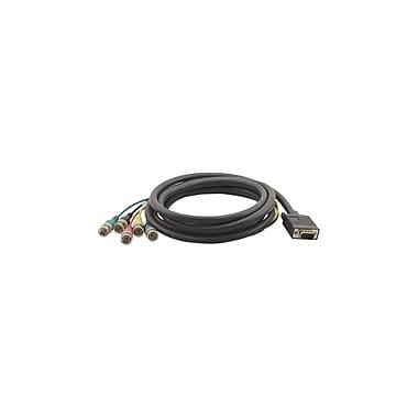 Kramer – Câble adaptateur à connecteur mâle de 15 broches HD-15 vers connecteur mâle de 5 BNC (KC-C-GM/5BM-50), 50 pi