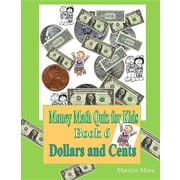 Money Math Quiz for Kids Book 6 Dollars and Cents