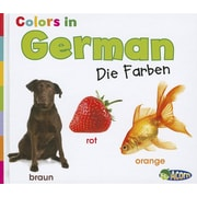 Colors in German: Die Farben (World Languages - Colors) (Multilingual Edition)
