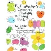 Ed Emberley's Complete Funprint Drawing Book (Turtleback School & Library Binding Edition)
