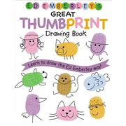 Ed Emberley's Great Thumbprint Drawing Book (Turtleback School & Library Binding Edition) (Ed Emberley Drawing Books (Prebound))