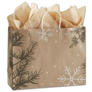 "Bags & Bows® Shoppers Bag, 12 1/2"" x 16"" x 6"", Nature's Wonder"