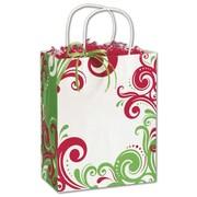 "Bags & Bows® Shoppers Bag, 10 1/2"" x 8 1/4"" x 4 3/4"", Fantasia"