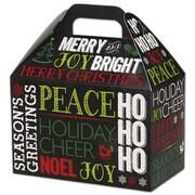 Bags & Bows® Gable Box, 5 1/2 x 8 1/2 x 5, Chalkboard Greetings
