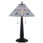 "Kenroy Home Citrus Box 32372BL 24"" Table Lamp, Black"